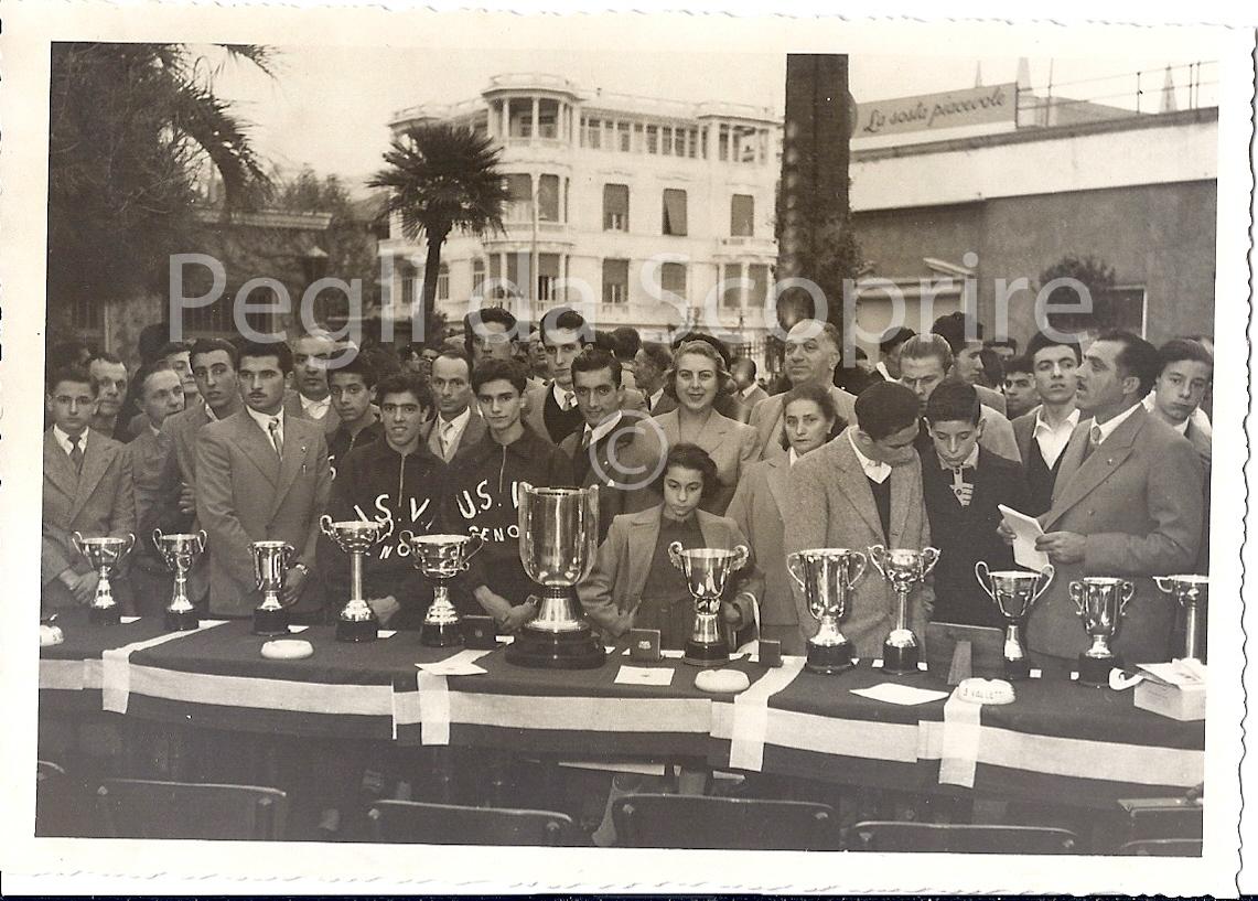 FOTOGRAFIE DI PEGLI NEL 1950