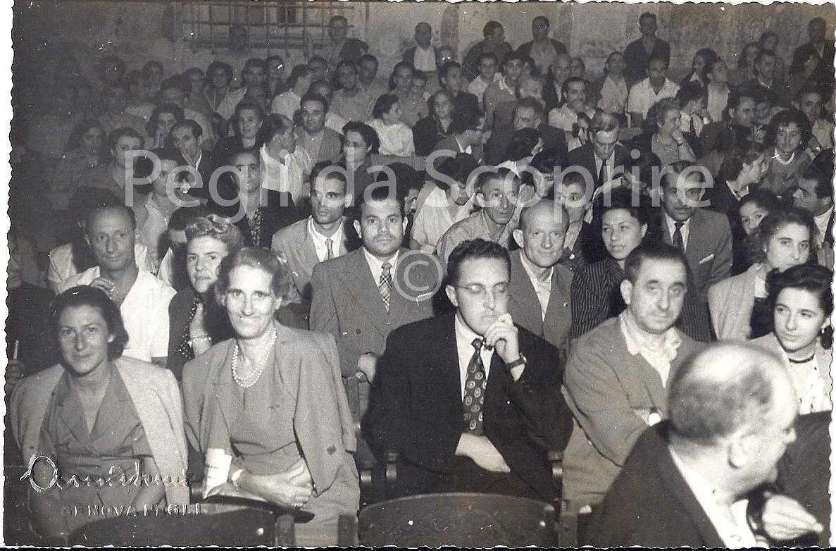 FOTOGRAFIE DI PEGLI NEL 1951